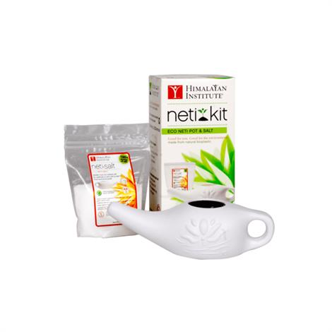 Himalayan Institute Eco Neti Kit,Neti Pot Kit,Each,HSJ12-ENU-US