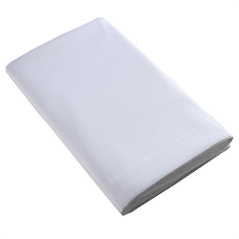 Simple Sheets Twin XL Flat Sheet,Flat Sheet,Each,XFS1WTXL