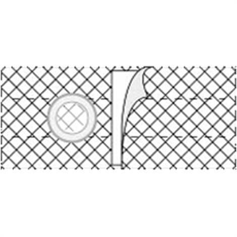 Nu-Hope Nu-Form 6 Inches Cool Comfort Elastic Ostomy Support Belt,0,Each,0