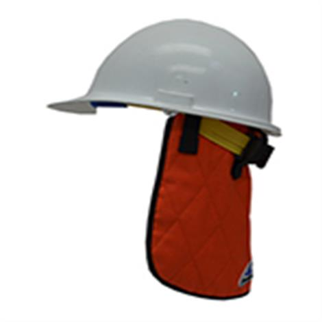 TechNiche Hyperkewl Evaporative Cooling Neck Shade Fire Retardant,Hi-Viz Orange,Each,6525-FR