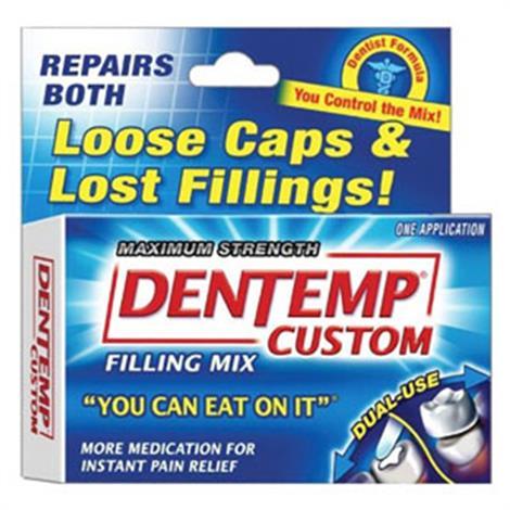 Cardinal Health Dentemp Temporary Filling Mix,Filling Mix,Each,2956985