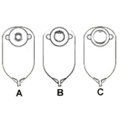 Image of Nu-Hope Convex Round Cut-To-Fit Post-Operative Adult Urinary Pouch10/Pack8291-DC