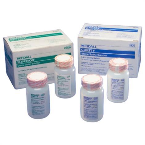 Covidien Sterile Saline Water,100ml,48/Pack,1020