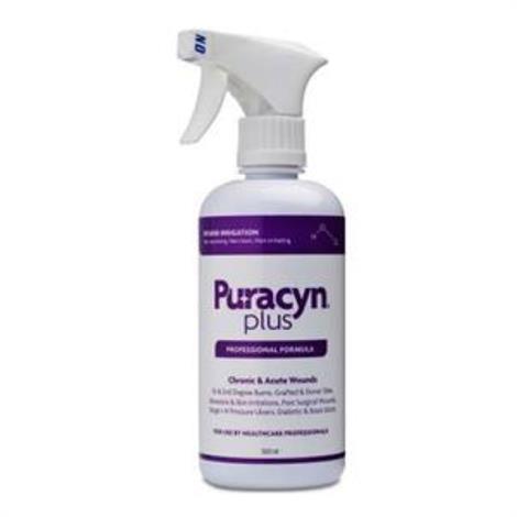 Innovacyn Puracyn Plus Professional Wound Irrigation Solution,16.9 oz. Spray Bottle,6/Case,186-6004
