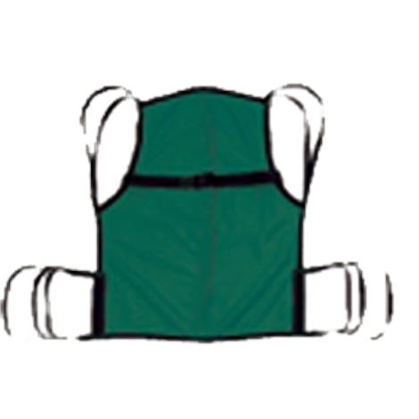 Hoyer Classics Four-Point One Piece Sling with Positioning Strap,Large,Without Commode Opening,Each,70051
