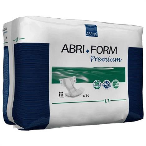 Abena Abri-Form Premium Air Plus Adult Brief - Large,L1,Absorbency level: 2500ml,104/Case,43066