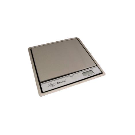 "Escali Pronto Surface Mountable Kitchen Scale,8.25"" x 8.25"" x 1.25"",Each,115B"