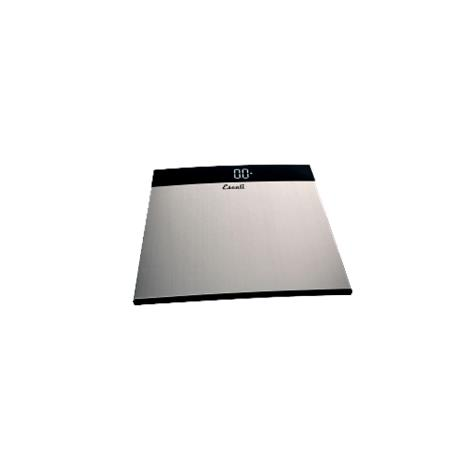 """Escali Extra Large Stainless Steel Bathroom Scale,13.5"""" X 13.75"""" X 1"""",Each,S200"""