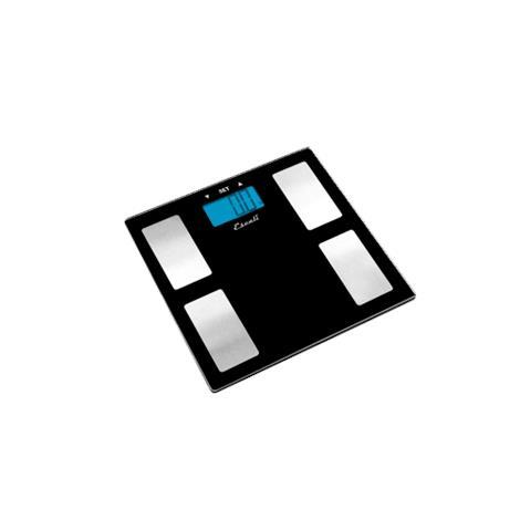 """Escali Ultra Slim Health Monitor Bathroom Scale,12"""" X 12"""" X 0.75"""",Each,USHM180G"""