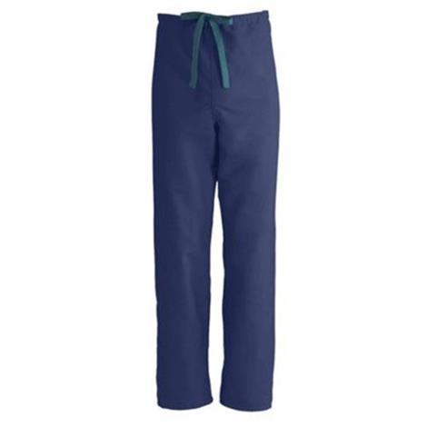 Medline ComfortEase Unisex Midnight Blue Reversible Drawstring Pants - Value Pack - from $124.02