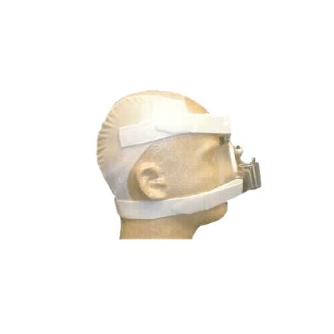 Respironics Softcap Nasal Mask Headgear,Large,White,Non-Mesh,Each,302215