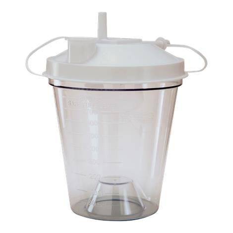 Drive 800cc Disposable Suction Canister,800cc,12/Pack,610-12B