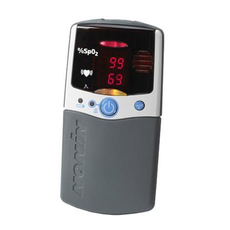 Nonin PalmSAT 2500 Memory HandHeld Pulse Oximeter with Alarm,2.8W x 5.4H x 1.3D (7cm x 13.8cm x 3.2cm),Each,2500A