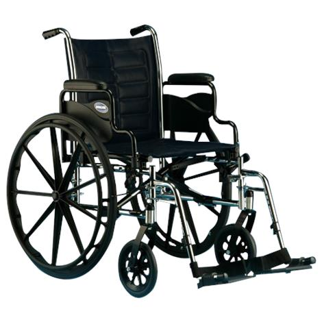 Invacare Tracer IV 20 Inches Full-Length Arms Wheelchair,Each,T420RFAP-T94HAP
