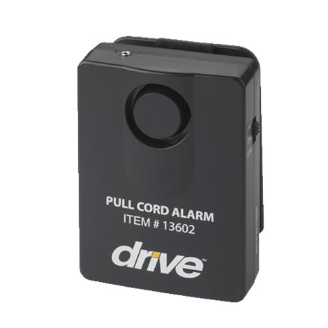 Drive Pull Cord Alarm,Black,Each,13602