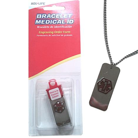 Acu-Life Medical ID Bracelet,Female,Each,VWA-VWX
