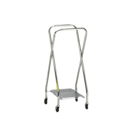 """R&B Collapsible Hamper Frame,Adjustable with Wire Bottom Shelf,17""""L x 18""""D,22""""D or 25""""D x 37""""H,Each,656"""