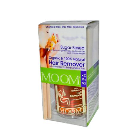 Moom Organic Hair Removal Kit With Lavender SPA Formula,Kit,Each,MSL 082565-3