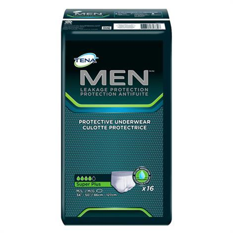 Tena Men Protective Underwear - Super Plus Absorbency,X-Large,Fits Waist 44