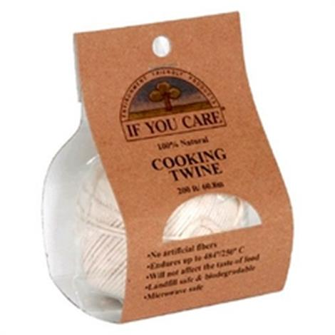 If You Care Natural Cooking Twine,Cooking Twine, 200 ft,24/Pack,B85096
