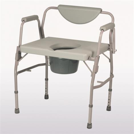 Homecraft Deluxe Bariatric Drop Arm Commode,Drop Arm Commode,Each,81706381