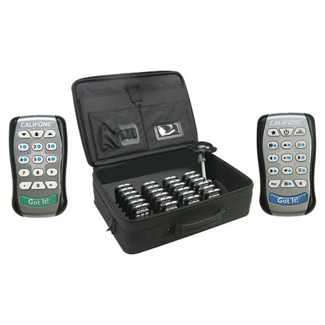 Califone Got It Interactive Wireless Student Response System,Student Response System,5/Pack,9005