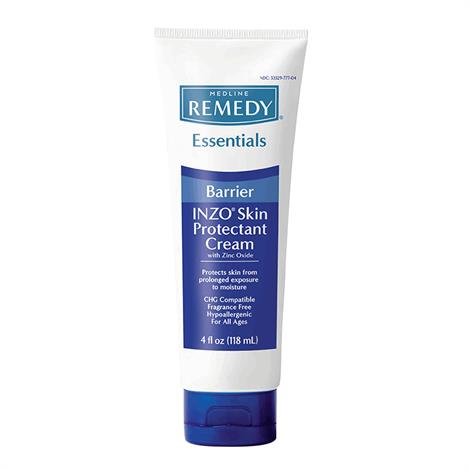 Medline Soothe and Cool INZO Barrier Cream,4oz Tube,12/Case,MSC095420