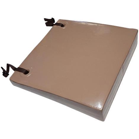 Danmar Anti-Thrust Cushion,Large,Black,Each,6915