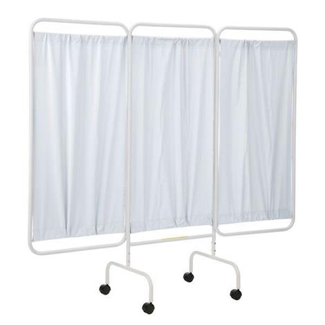 R&B Privacy Screen,Privacy Screen with Casters,Blue,Each,PSS-3C