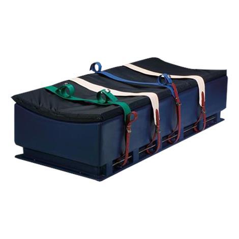 "Humane Restraint Duramax Bed With Side Bars,16""H x 30""W x 75""L,Each,GDB-100"