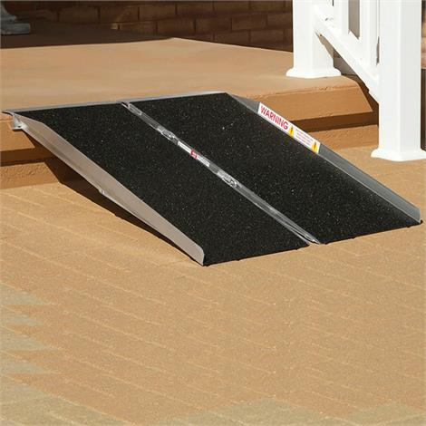 PVI Portable SingleFold Ramp,2ft L x 30W,Each,SFW230