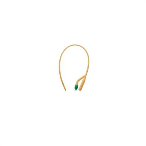 Amsino AMSure Silicone Coated 2-Way Foley Catheter,24Fr,30cc Balloon Capacity,Each,AS42024