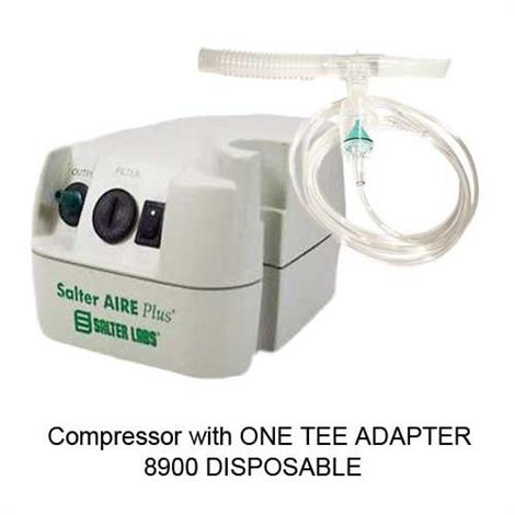 Salter Aire Elite Plus Portable Compressor With Disposable Nebulizer,Without Carrying Bag,Each,8350-8900-7-1