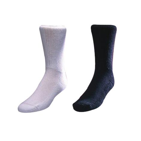 Medicool European Comfort Socks,Large,White,6Pair/Case,SOXLW