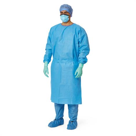 Medline AAMI Level 3 Isolation Gowns,Premium Blue, Size XL,50/CS,NONLV325XL - from $147.99