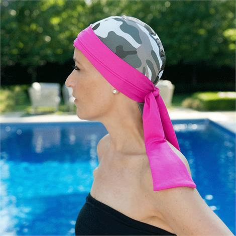 Bwell 11 Bandiva Turbans And Headscarves,Black Dots,Each,BLK