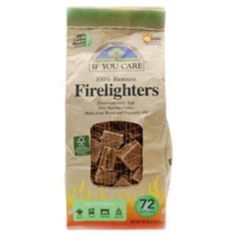 If You Care Firelighters,Firelighters, 72 ct.,12/Pack,B65100