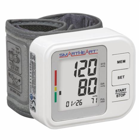 Electronic Blood Pressure and Pulse Meters,Wristwatch,Each,92012