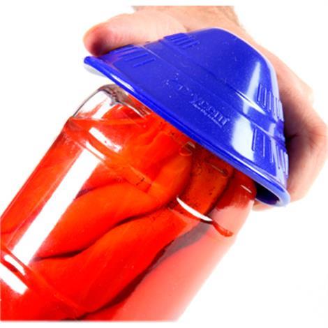 Dycem Non Slip Material Jar Openers,Blue,Each,50-1650B