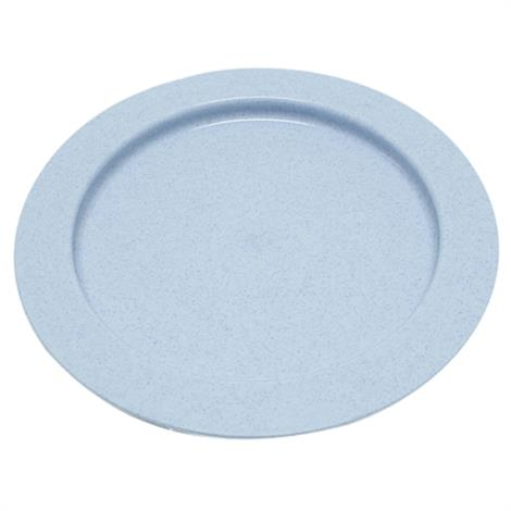 "Fabrication Inner Lip Plates,Plastic Plate,Blue,9"",Each,62-0110"