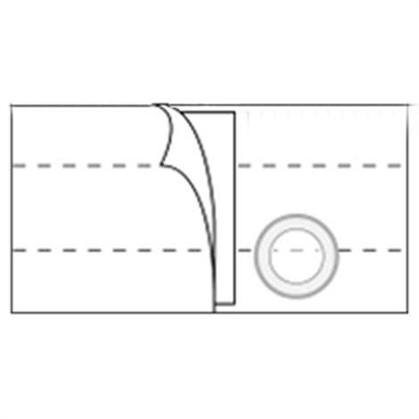 Nu-Hope Nu-Form 7 Inches Left Sided Stoma Regular Elastic Ostomy Support Belt,0,Each,0
