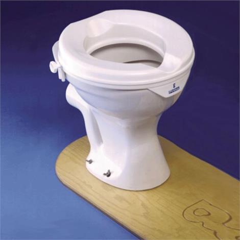 "Homecraft Prima Raised Toilet Seat,2""H Seat,Each,554939"