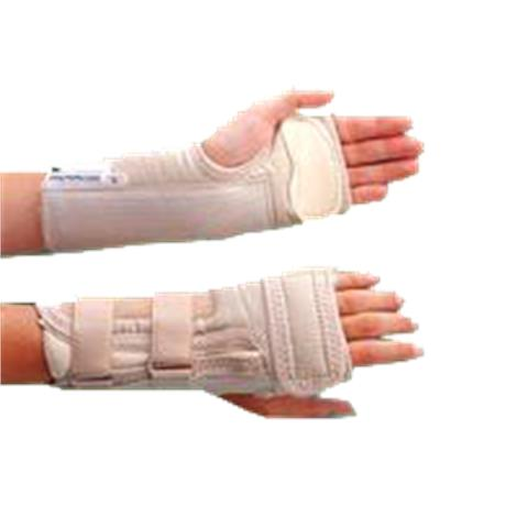 Rolyan D-Ring Wrist Brace with MCP Support,Right,Medium,Each,A6126