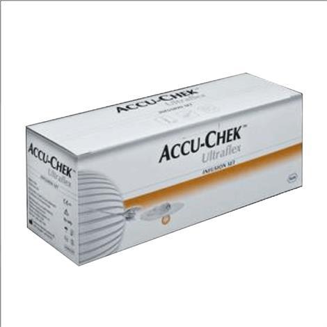 """Roche Accu-Chek Ultraflex-I Set,24"""" 10 mm,10/Pack,DI4626613001"""