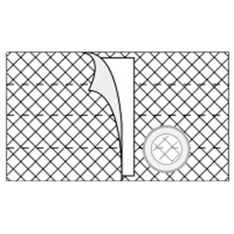 Nu-Hope Nu-Form 8 Inches Left Sided Cool Comfort Elastic Ostomy Support Belt,0,Each,0