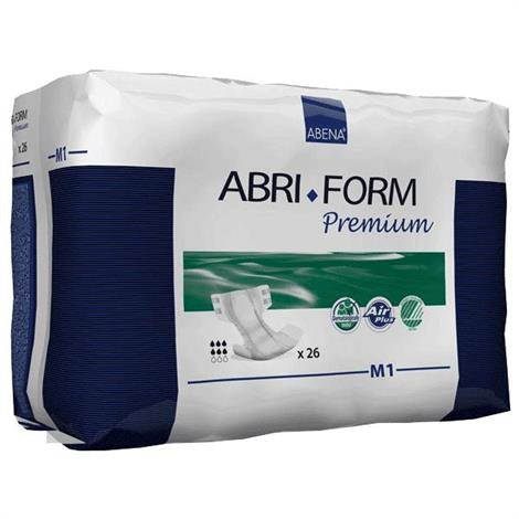 Abena Abri-Form Premium Air Plus Adult Brief - Medium,Abri-Form M1,26/Pack,4Pk/Case,43061
