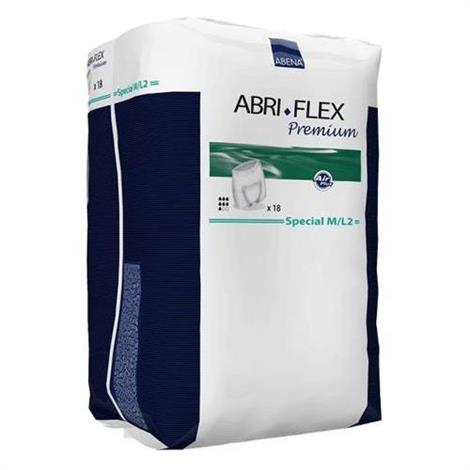 Abena Abri-Flex Special Premium Protective Underwear,M/L2,Hip size: 80-135 cm,Absorbency level: 1700ml,18/Pack,41076
