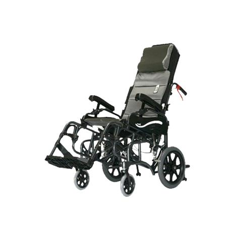 Karman Healthcare Tilt-in-Space Foldable Transport Wheelchair,0,Each,0