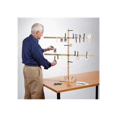 Yardstick Tree with Peg Board,Peg Board,Each,568947