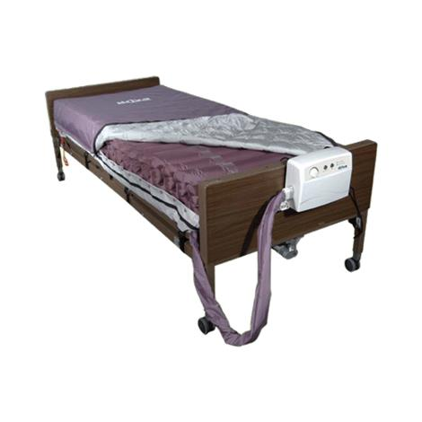 """Drive Med-Aire Alternating Pressure Pump and Mattress Replacement System with Low Air Loss,36""""W x 80""""L x 8""""H,Each,14027 DRV14027"""